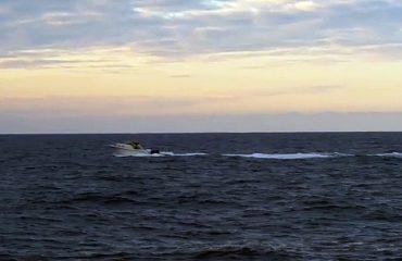 Kapet gomonia me 2 skafistë si dhe 600 kg drogë, trafikantët manovra të rrezikshme në det