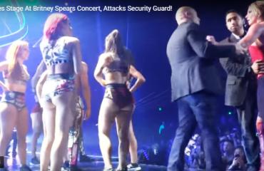 """Britney Spears pyet e tmerruar kur fansi u ngjit në skenë: """"Ai ka armë?"""""""