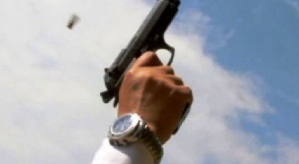 Belsh, u zunë për një koshere bletësh, e plagosi me armë