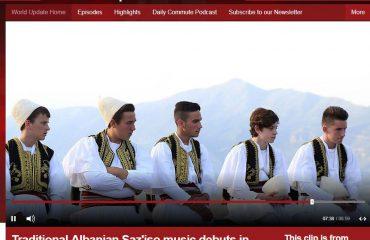 Video / Muzika tradicionale shqiptare Saz'iso debuton në Londër