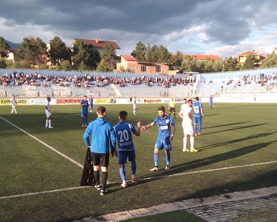 """Vllaznia """"dy shuplaka"""" Lushnjës debutuese në Fier, Partizanit """"i ndalohet"""" barazimi"""