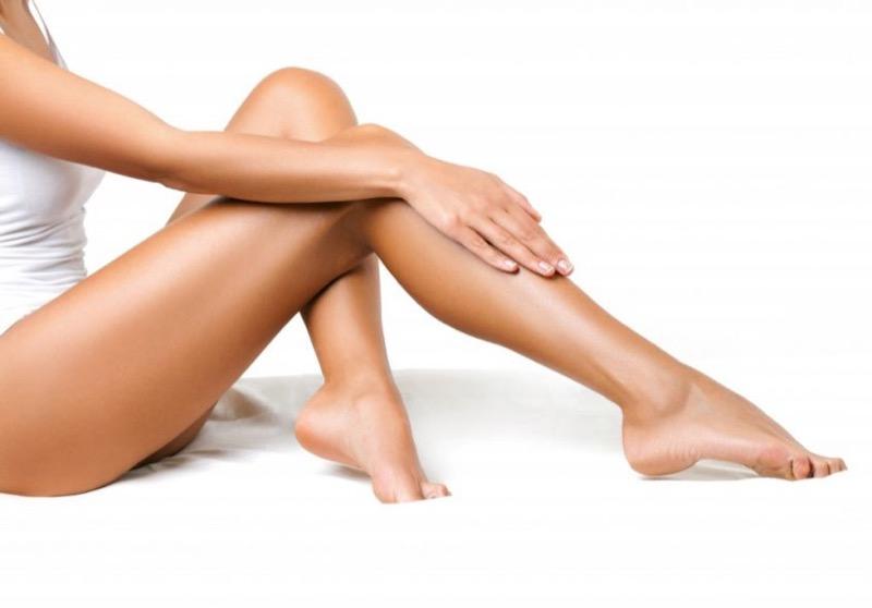 Trajtim për këmbët, përpara depilimit