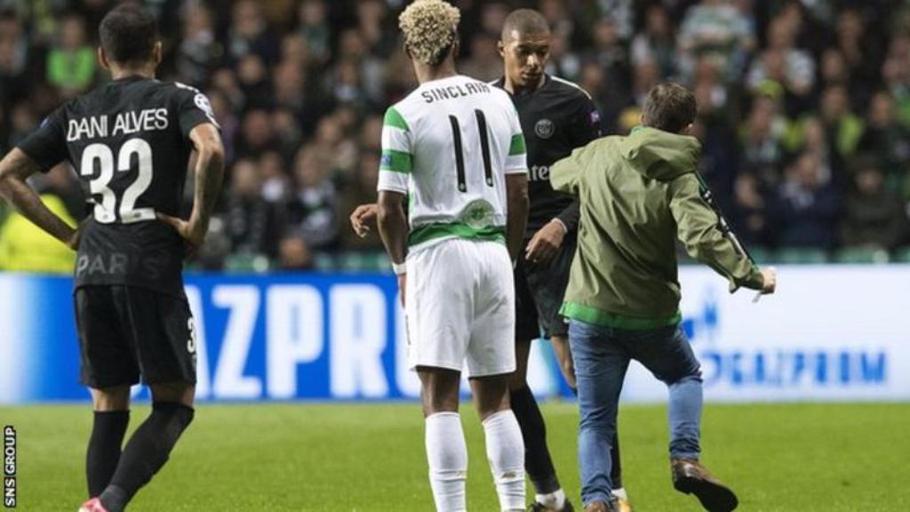 Tifozi i Celtic hyri në fushë dhe tentoi të godiste Mbappe, Uefa vendos më 19 tetor