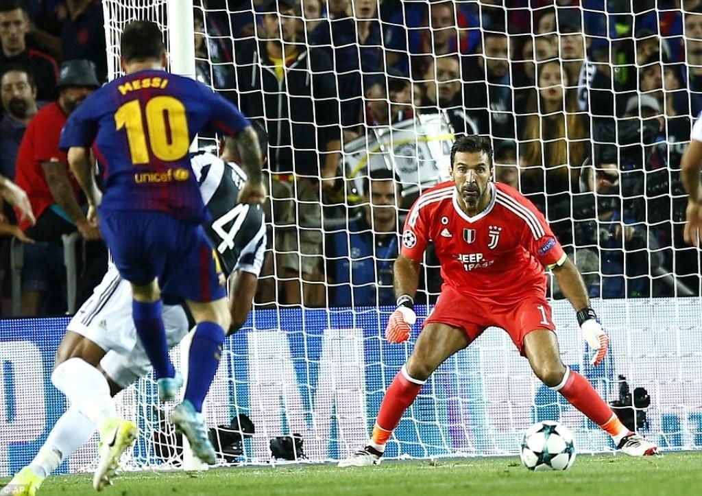 Juve e Buffon dorëzohen para Messi&Co