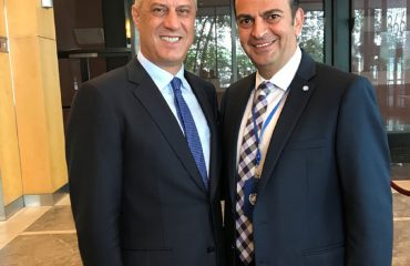 Interview with the President of Kosovo, Hashim Thaci