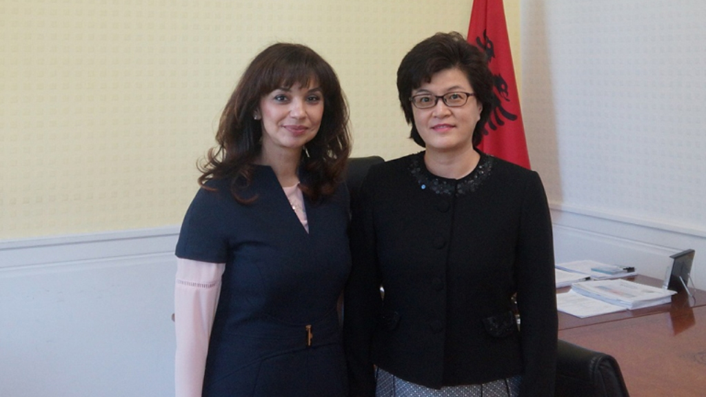China and Albania praise their cooperation