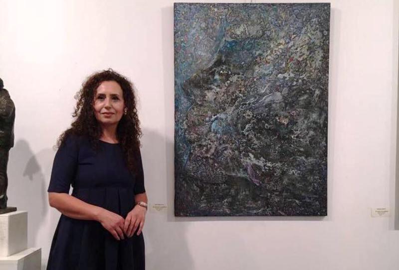Majlinda Aliaj: Një femër e ka të vështirë  të jetojë vetëm me pikturë