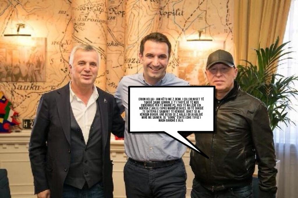 """""""ANTENA JASHTË FAMILJES"""": Shoku Erion Veliaj dërgon Gaz Demin në shtëpinë e Saimirit"""