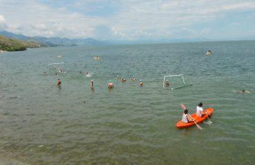 Kreu i Drejtorisë së Mjedisit në Lezhë konfirmon ndotjen në liqen: Vjen nga lëndë kimike