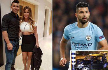 Aguero ndahet nga e dashura...dhimbjes i shtohet edhe aksidenti