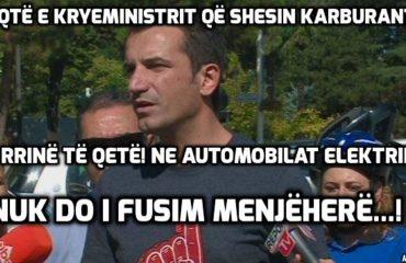 Arbër Mazniku: Ishallah nuk i mbetet hatri Ramës, që po fusim autobusë elektrikë...!