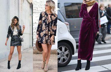 Si të kombinoni çizmet deri tek kyçi me fustane apo funde, ja disa ide!