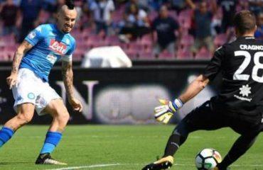 """Strakosha shijon """"tenis"""" në fushë, Hysaj prek fitoren e 7-të radhazi, Napoli 25 gola"""