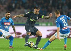 NapoliInter frenohen në përplasje, sot në Udine