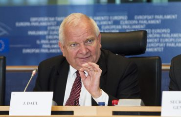 EPP president Daul voices his concern about the state of democracy in Albania