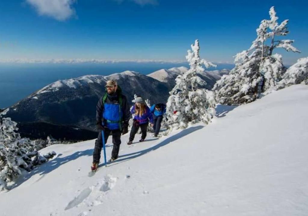Dimri po afron, pamje mahnitëse nga Parku kombëtar i Llogarasë