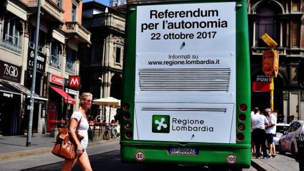 """Efekti """"Domino"""", veriu i Italisë kërkon më shumë pavarësi"""