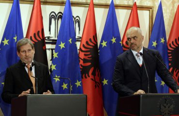 Hahn from Tirana: EU negotiations, Albania should deliver the 5 key priorities