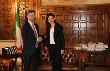 Ministrja e Drejtësisë, Etilda Gjonaj në Romë, marrëveshje me Italinë për drejtësinë