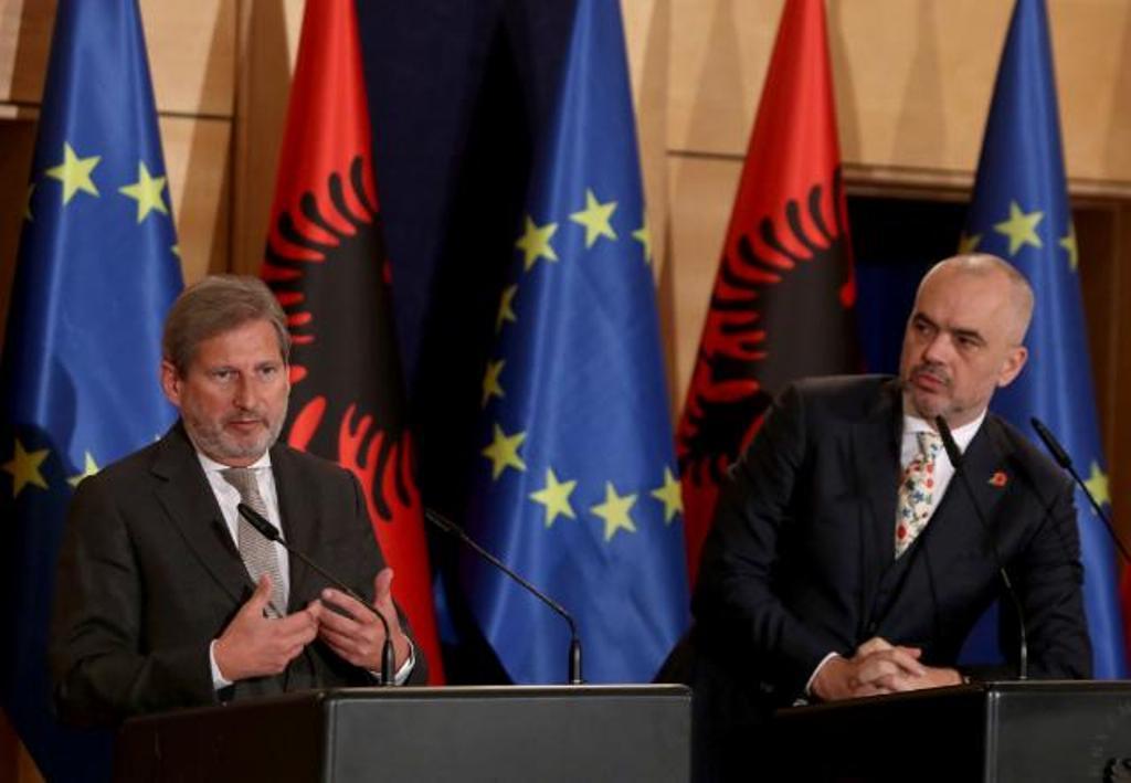 Çelja e negociatave, Hahn : Integrimi i Shqipërisë, të jetë objektiv kombëtar