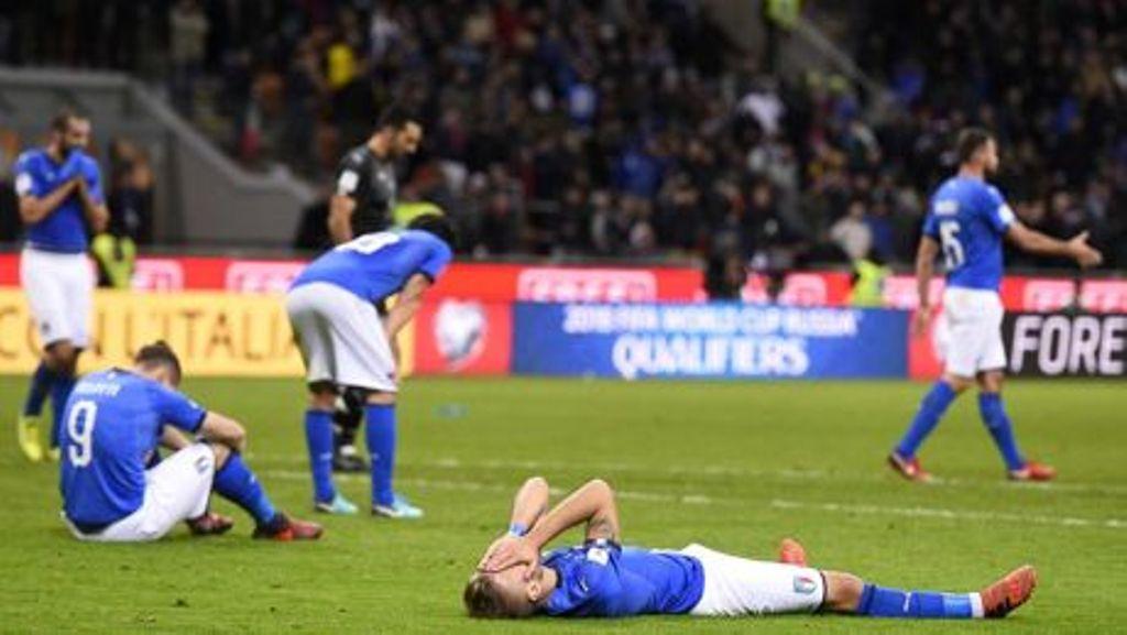 Italia pas 60 vjetësh jashtë Kupës së Botës...E papranueshme: Të gjithë jashtë!