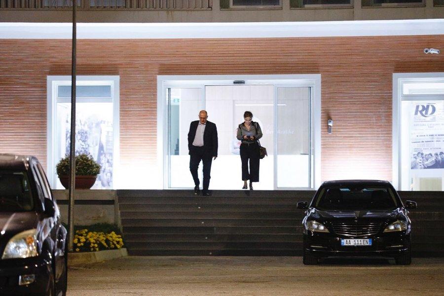 Intensifikimi i aksionit opozitar, Kryemadhi në zyrën e Bashës