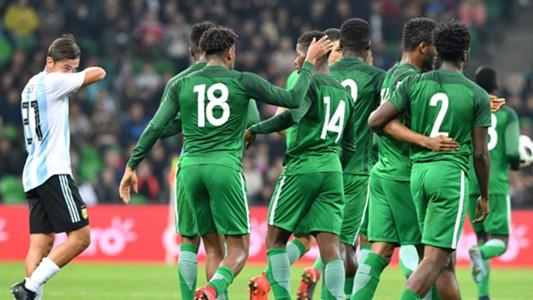 """Nigeria përmbys rezultatin, Argjentina """"justifikohet"""" me mungesën e Messit"""
