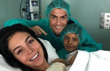 """Georgina sjell në jetë një vajzë, Ronaldo """"një baba më tepër"""""""