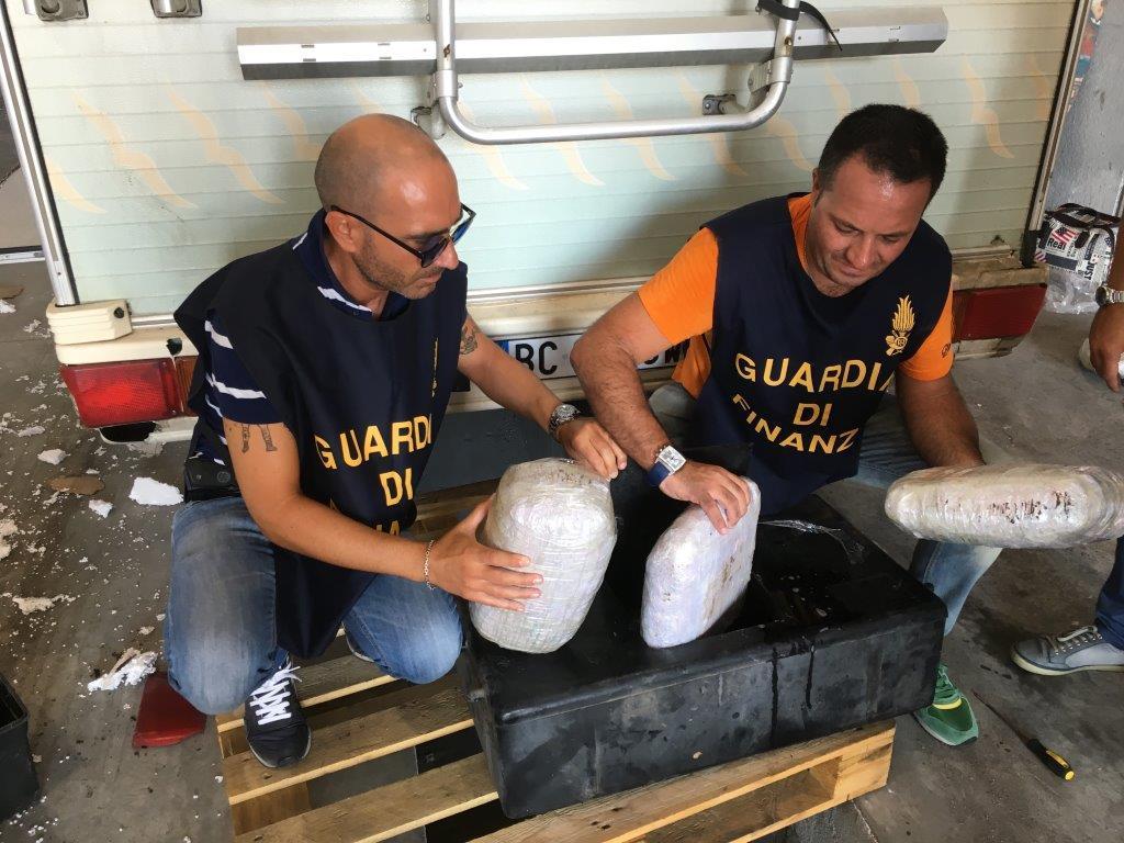 """""""Smoke Snake""""/Zbulohet identiteti i pesë shqiptarëve trafikantë droge në Napoli"""