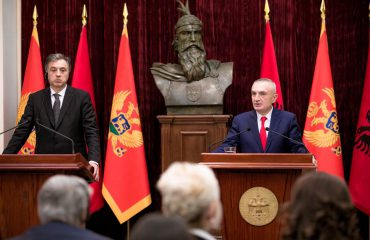 President Meta receives his counterpart from Montenegro