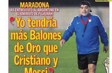 Maradona: Bale nuk do ta shisja por do ta dhuroja, Cristiano është i jashtëzakonshëm