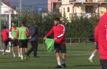 """Olsi Rama dhe Bruno Telushi, """"blerjet e reja"""" në stërvitjen e parë me Partizanin"""