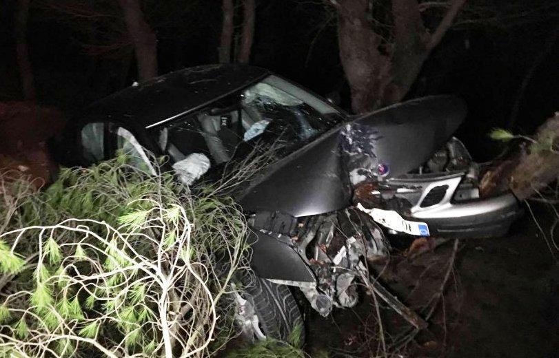 Aksidenti, shkatërrohet makina, plagoset e reja pasagjere