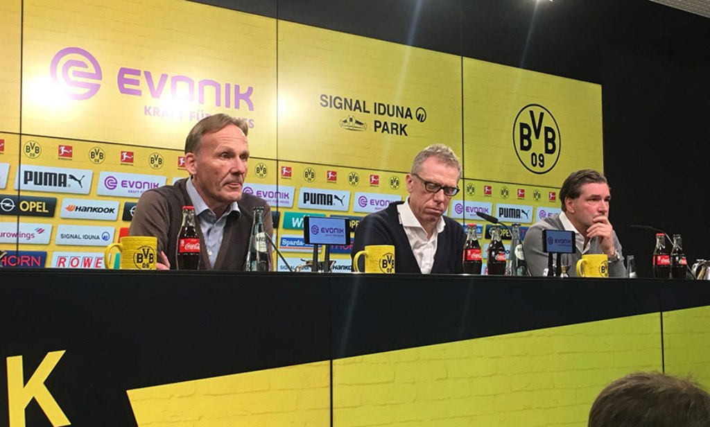 Borusia Dortumnd shkarkon trajnerin