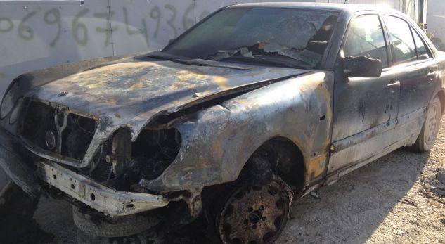 Korçë, digjet makina e ish shefit të policisë së Burgut të Drenovës