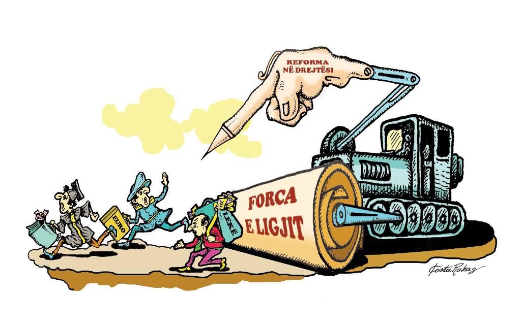 Karikatura e ditës në Albanian Free Press nga Kosta Raka (5 dhjetor 2017)