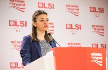 """Ligji për Arsimin, LSI do të ndjek penalisht ministren Nikolla """"për shpërdorim detyre"""""""