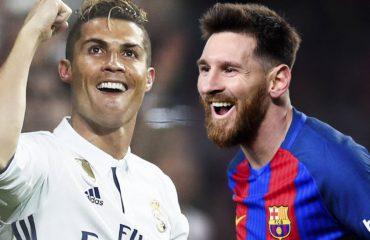 Topi i Artë 2017: Cristiano Ronaldo - Lionel Messi, përmes shifrave