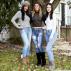 Iluzioni optik: Cila nga këto tre vajza është në të vërtetë pa pantallona?