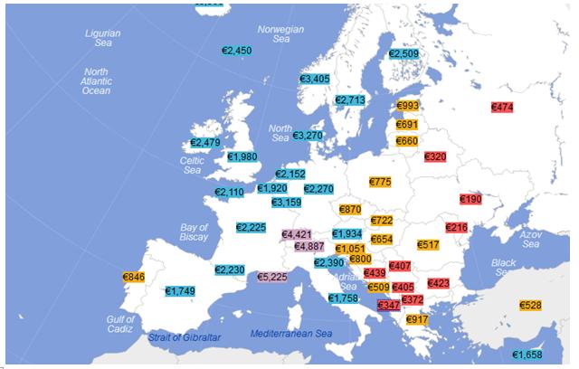 BB: Shqipëria, vendi me pagat më të ulëta në rajon
