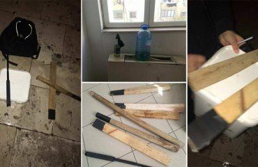 Arrestimet në derbin e basketbollit, tifozët e Partizanit përplasen sërish me policinë