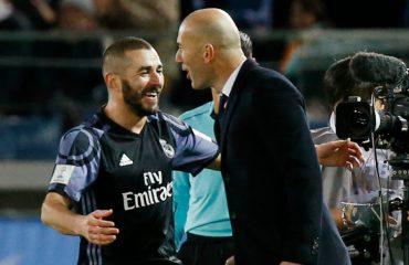 Zidane në krah të Benzemas: E vlerësoj dhe do ta mbroj deri 'në vdekje'