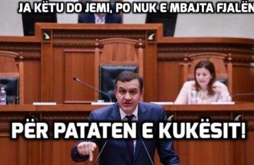 """Flet shoku Ilir Beqaj: Tani në Kukës nuk do thonë më, """"ai e hëngri pataten"""""""