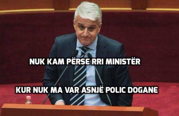 Flet shoku Pandeli Majko: Si më qëlluan policët e doganës. Jap dorëheqjen nga ministër!