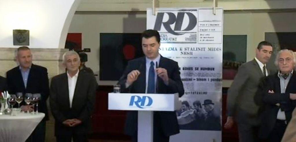 Basha: RD, drita e parë në errësirën shpirtërore për qindra mijëra shqiptarë
