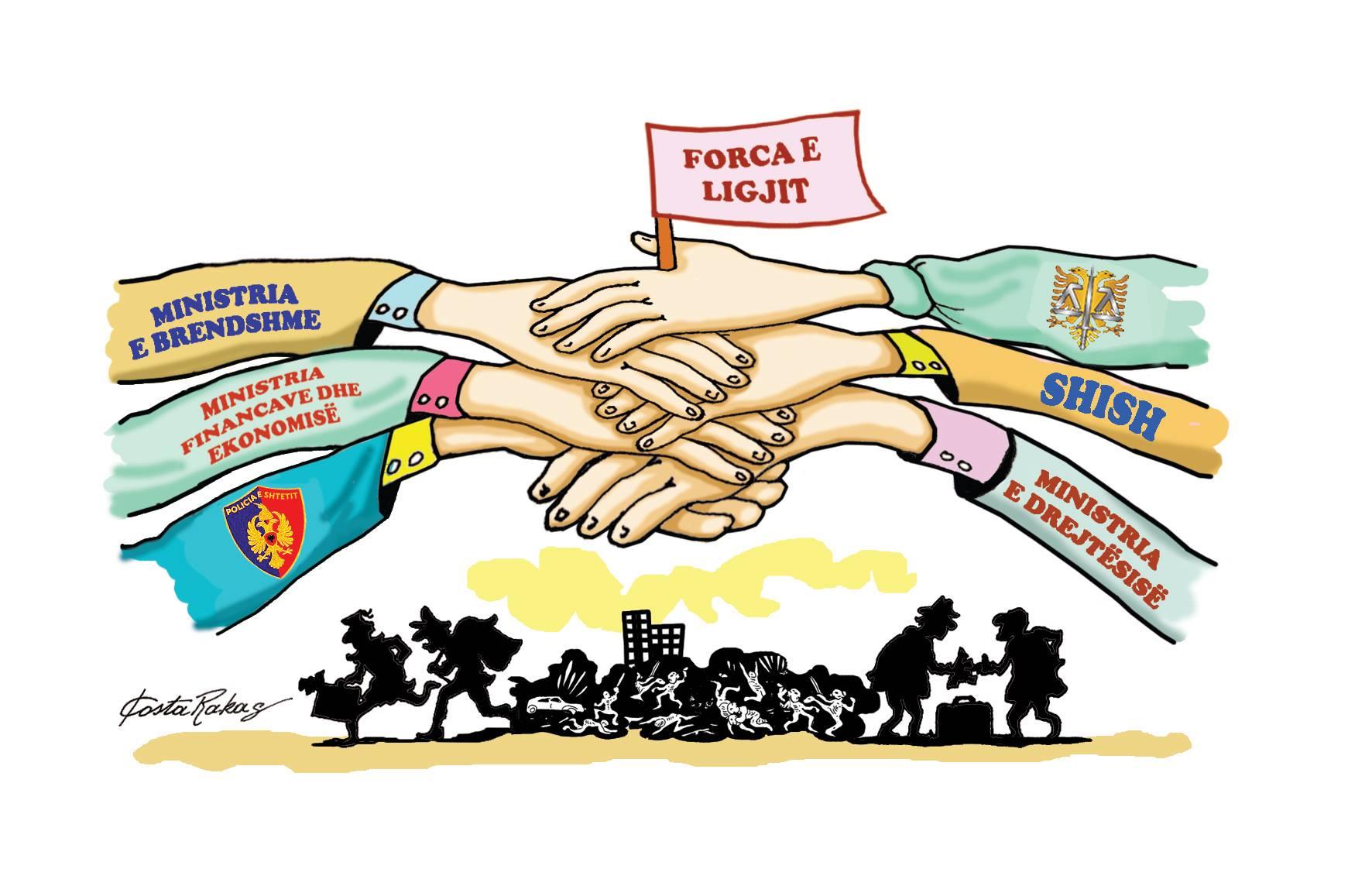 Karikatura e ditës në Albanian Free Press nga Kosta Raka (11 janar 2018)