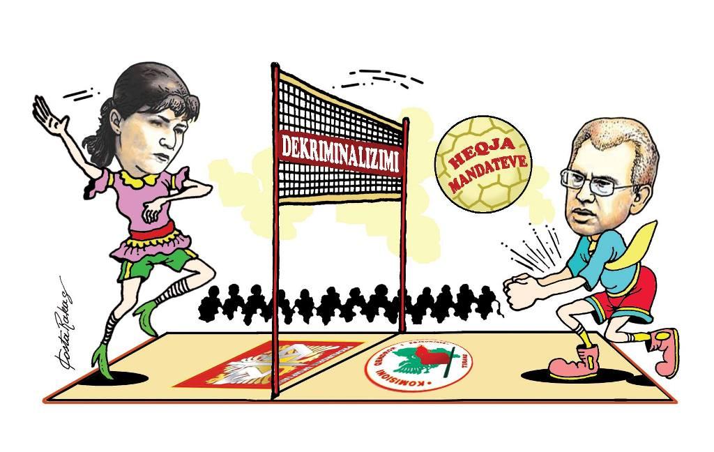 Karikatura e ditës në Albanian Free Press nga Kosta Raka (5 janar 2018)