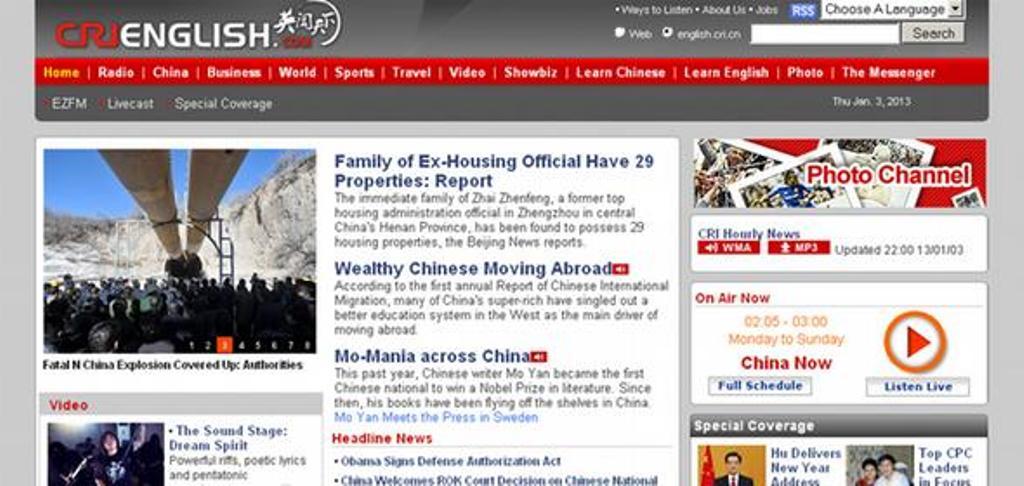 Ofensiva mediatike kineze në Evropë