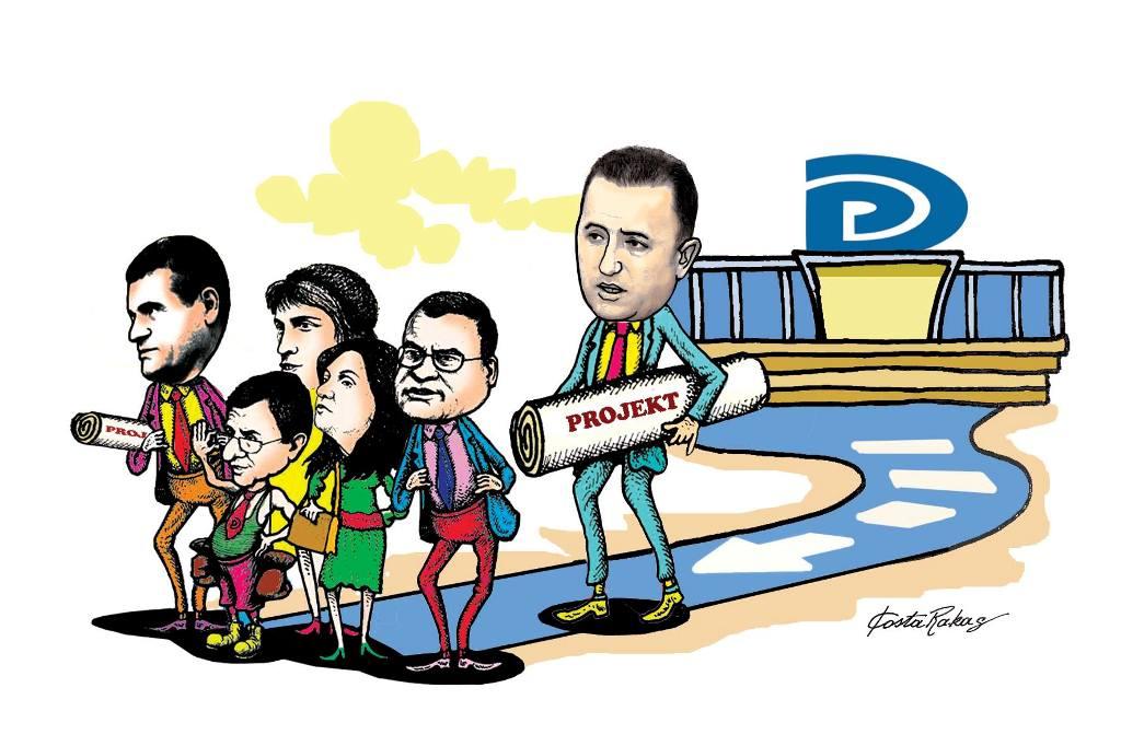 Karikatura e ditës në Albanian Free Press nga Kosta Raka (13 shkurt 2018)