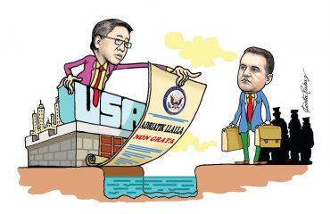 Karikatura e ditës në Albanian Free Press nga Kosta Raka (19 shkurt 2018)